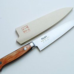 Yoshihiro Vg-1 High Carbon Stainless Steel Petty Knife With Saya Cover (4.75In) Yoshikuni Series