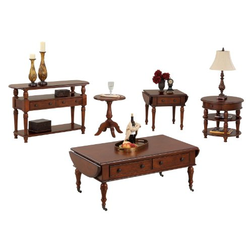 Image of Progressive Furniture Sofa/Console Table - Burnished Light Cherry (P524-05)