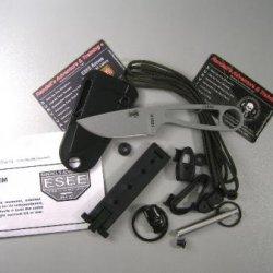 Esee Knives Izula With Survival Kit Gray