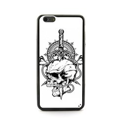 "Casecityliu - Evil Eye On The Knife Skull Pattern Design Plastic+Tpu Case Cover For Apple Iphone 6 Plus 6Th 6Generation 5.5"" Inch"