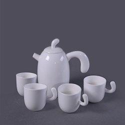 Granvela Tea Sets Tea Cups Pure Bone China Designed Artworks A Pot Of 4 Cups