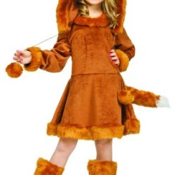 Big Girls' Sweet Fox Costume Large (12-14)