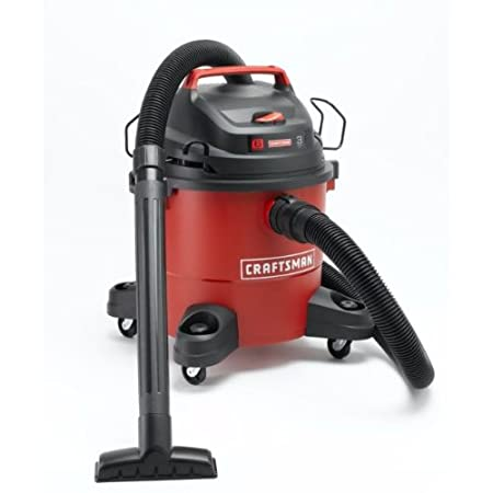 Everyone should have a versatile indoor/outdoor vacuum and blower combo unit. This Craftsman 6 Gallon Wet/Dry Vac, featuring a powerful 3 peak HP motor is the ideal solution for tackling small to medium cleanup projects around the house. The Craftsma...