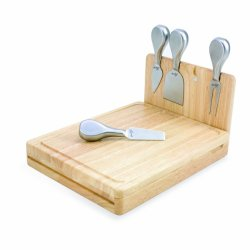 Nfl New York Giants Asiago Folding Cheese Serving Set