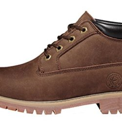 Guciheaven Winter Men New Style Caual Leather Cotton-Padded Shoes(8 D(M)Us, Coffee)