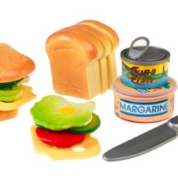 Slice-A-Rific Cut & Play Sandwich Set : The Play Food That Sounds Real When Sliced