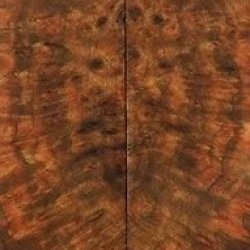 "Chechen Burl Eye 2 Pc Knife Scale 1/4""X1 1/2""X6"" 804"