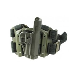 Blackhawk! Serpa Level 2 Tactical Olive Drab Holster, Size 03, Right Hand, (1911 Gov'T & Clones W/ Or W/O Rail   )