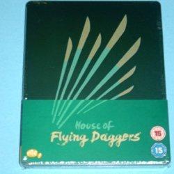 House Of Flying Daggers Uk Blu-Ray Limited Steelbook Edition Region B