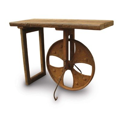 Image of Olio Console Table in Distressed Natural (XA-1001-24)