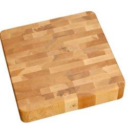J.K. Adams 16-Inch Square End-Grain Cherry Chunk Cutting Board