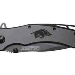 Razorbacks Solid Engraved Tac-Force Tf-820Gy Speedster Model Folding Pocket Knife By Ndz Performance