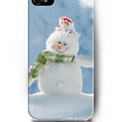 Exquisite Colored Pattern - Smiling Snowman - Ukase Back Case Cover Protector Skin For Iphone 4/4S