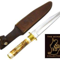 New Bone Collector Bone Handle Hunting Knife Bc786