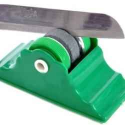 2Pcs Kitchen Equipment Whetstone Knife Sharpener Sharp Angle Two Grinding Wheel