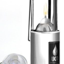 Uco Original Collapsible Candle Lantern With Detachable Led Light, Aluminum