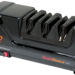 Chef'S Choice 1520 Angle Select Diamond Hone Sharpener, Black