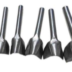 Passion Junetree Leather Paring Knife Leathers Cutting Tool Half Round Knife V Shape 7Pcs Set