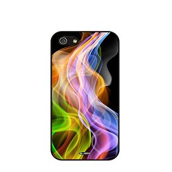 Dh-Hoping (Tm) Cell Phone Case For Personalizatied Custom Picture Iphone 5C High Impackt Combo Soft Silicon Rubber Hybrid Hard Pc & Metal Aluminum Protective Case With Customizatied Paint Retro Style Splash-Ink Luxurious Pattern (Dye-11)