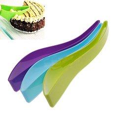 Moonar® New Cake Pie Slicer Sheet Guide Cutter Server Bread Slice Knife Kitchen Gadget