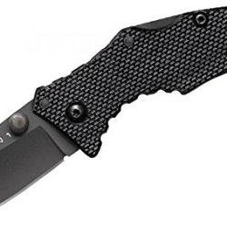 New Cold Steel Micro Recon 1 Spear Point Plain Edge Knife 27Tds
