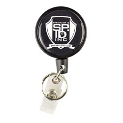 Specialistid Heavy Duty Retractable Id Badge And Key Reel (#6 Special) -Swivel Belt Clip / Rugged Polycarbonate Casing