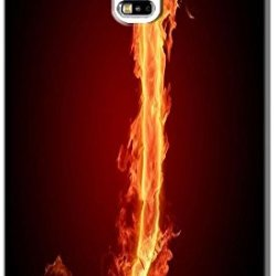 Phone Accessories Lovely 26 Fire Letter Character Cute Design Special For Samsung Galaxy S5 I9600 No.10
