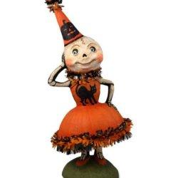 "Skellita Skeleton 21"" Halloween Party Figurine Bethany Lowe New Debra Schoch"