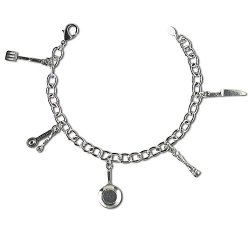 Kiss The Cook: The Cook'S Kitchen Charm Bracelet