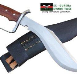 "11.5"" Blade Chhukuri Dou Ble Edge D-Guard Handle Khukuri, Gurkha Kukri Or Khukri Knife - Handmade By Ex Gurkha Khukuri House In Nepal"