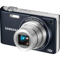Samsung Ec-Pl210 Digital Camera With 14 Mp And 10X Optical Zoom (Indigo Blue)