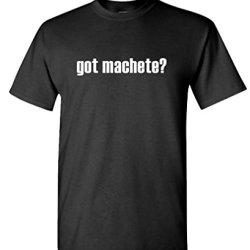 Got Machete? - Mens Cotton T-Shirt, 2Xl, Black