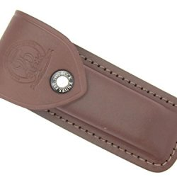 Buck 110 Sheath Bcci 25Th Anniversary Hunter Brown (Burgundy) Folding Hunter Leather Knife Sheath (Buck Collectors Club, Inc)