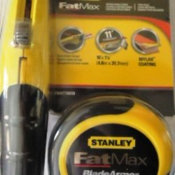 Stanley Fatmax Value Pack With 16' Blade Armor Tape Measure And Retractable Knife
