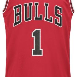 Nba Chicago Bulls Derrick Rose Swingman Jersey, Red, X-Large