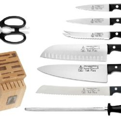 Messermeister Park Plaza 9-Piece Essential Knife Set With Block