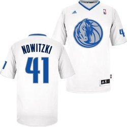 Dirk Nowitzki Dallas Mavericks #41 Nba Youth Swingman Short Sleeve Jersey White (Youth Small 8)