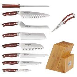Crimson 10 Piece Cutlery Set