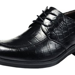 Index Men'S Business Topper Genuine Leather Shoes (8 D(M)Us, Black)