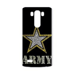 Jdsitem Creative Letter Army Star Design Case Cover Sleeve Protector For Phone Lg G3 (Laser Technology)