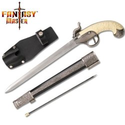 Fantasy Master Fm-570 Civil War Knife Display 15-Inch Overall