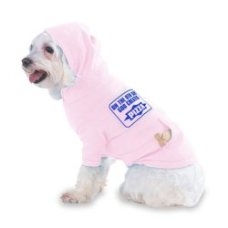 On The 8Th Day God Created Pizza Hooded (Hoody) T-Shirt With Pocket For Your Dog Or Cat Medium Lt Pink