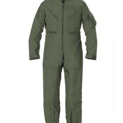 Us Military Usaf Women Nomex Sage Green Flight Suit - Size 30 Ws