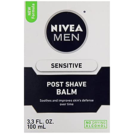 Nivea for Men Sensitive After Shave Balm moisturizes the skin and helps soothe and calm the irritations caused by shaving. The light, easily absorbed balm contains calming Chamomile Extract and Vitamins to help soothe skin after shaving, relieve razo...