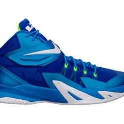 Nike Zoom Lebron Soldier Viii Men'S Basketball Shoe, Blue/White, Us9