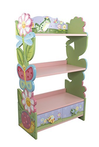 Fantasy Fields - Magic Garden Bookshelf by Teamson Design Corp [並行輸入品]