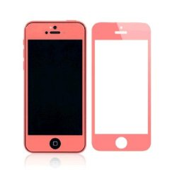 Daswise Colorful Ultra Clear 0.3 Mm Tempered Glass Screen Protector For Apple Iphone 5C /5/5S (Five Colors) (Pink)