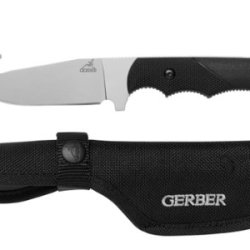 Gerber 31-000589 Freeman Guide Fixed Blade Knife With Gut Hook