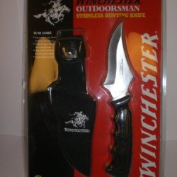 Winchester Stainless Hunting Knife W40 14002 New In Package