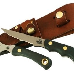 Knives Of Alaska Suregrip Jaeger/Muskrat Knife Combo